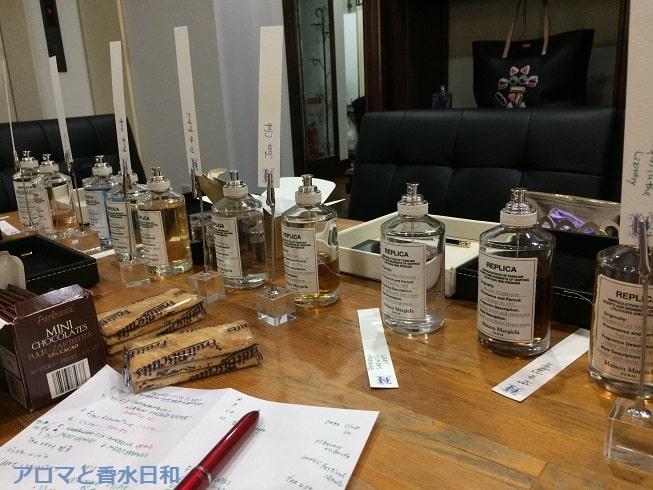 アクアブーケ香水オフ会