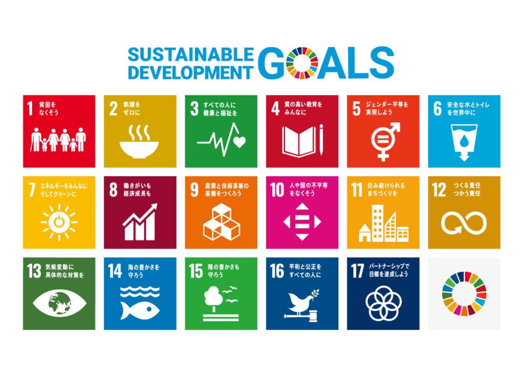 国連のSDGs(持続可能な開発目標)