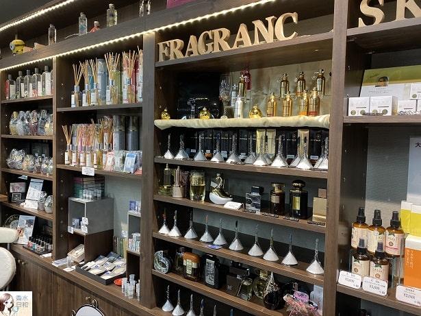 香水コーナー