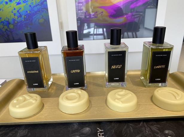 ラッシュスパで使用する香水4種